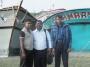 Justin Antony founder president of TN FIDET Meeting the arrested fishermen in Bangladesh